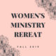 Women's Fall Retreat
